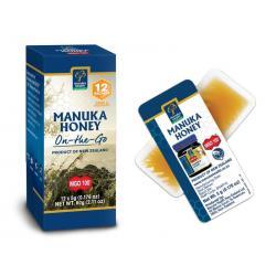 Manuka honing MGO 100+ 12x5 gram