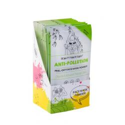 Anti-pollution face mask powder