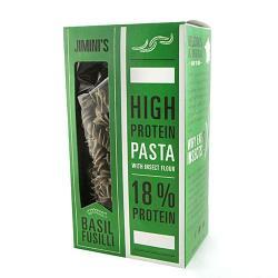 Italiaanse eiwit pasta fusilli