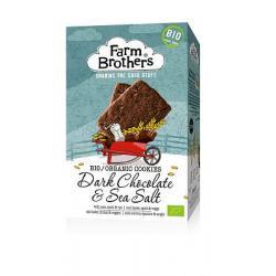 Chocolade met zeezout koekjes