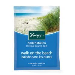Badkristallen walk on the beach