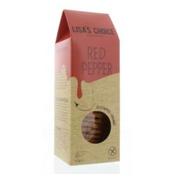 Red pepper cookies