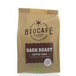 Coffee pads dark roast