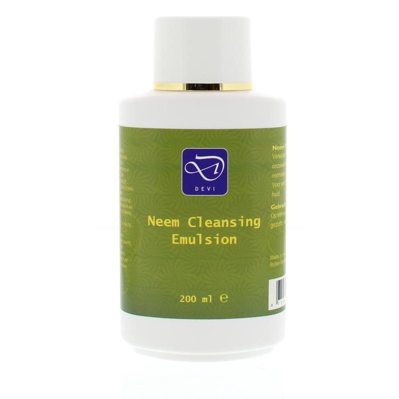 Neem cleansing emulsion