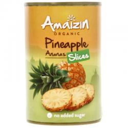 Ananasschijven op sap