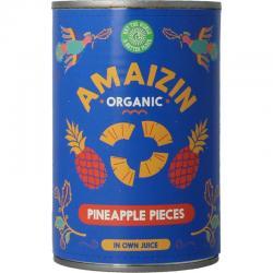 Ananasstukjes op sap