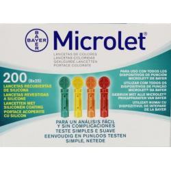 Microlet lancet 6544R