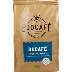 Coffee pads caffeinevrij