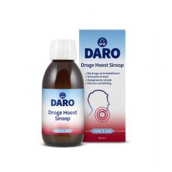 Droge hoest siroop
