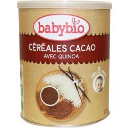 Cacaogranen vanaf 8 maanden