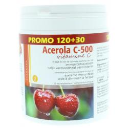 Acerola vitamine C 500 kauw