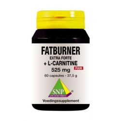 Fatburner extra forte & L-carnitine 525 mg puur