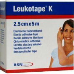Leukotape K 5 m x 2.5 cm huidkleur