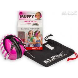 Muffy pink oorkappen