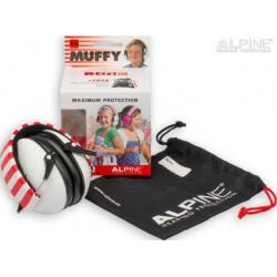 Muffy white oorkappen