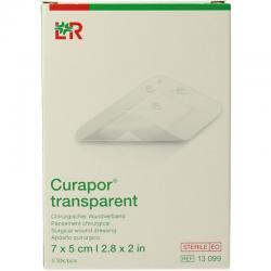 Transparant 7 x 5 cm steriel
