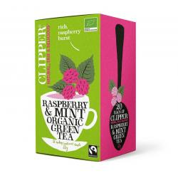 Framboos mint green tea