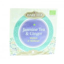 Tea within & without jasmine tea & ginger