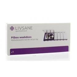 Pilbox dagdosis week
