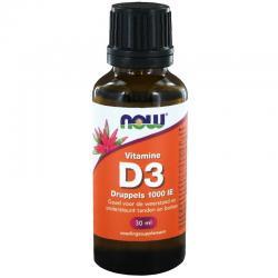 Vitamine D3 druppels 1000IE