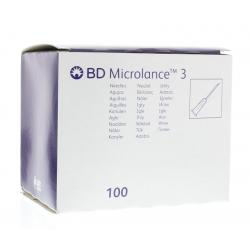 Injectienaald microlance 0.6 x 25