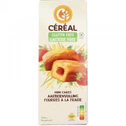 Aardbei cakeje glutenvrij