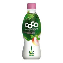 Coco drink green tea peach