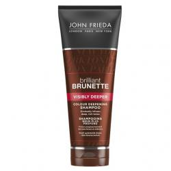 Brilliant brunette shampoo visibly deeper