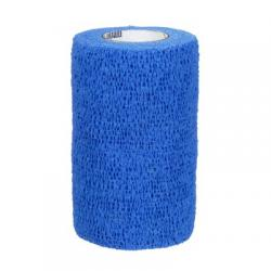 Coban zelfklevende zwachtel blauw 10 cm x 457 cm