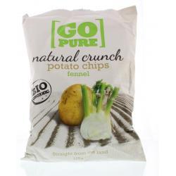 Chips natural crunch fennel