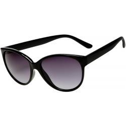 Zonnebril elegant zwart glans