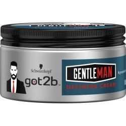Gentleman defining cream