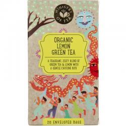 Lemon green tea bio