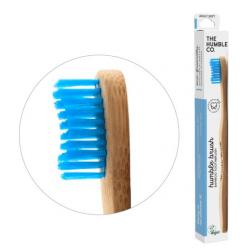 Tandenborstel blauw adult brush soft