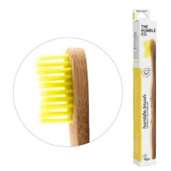 Tandenborstel geel adult brush soft