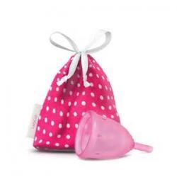 Menstruatie cup pink maat L 46 mm