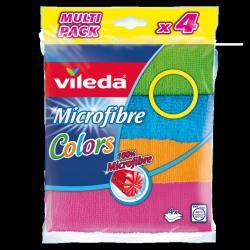 Microvezel doeken colors 4-pack