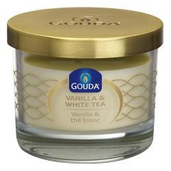 Gevuld geurglas ivoor/vanille/witte thee 66/80
