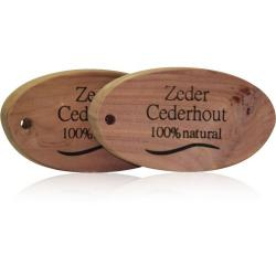 Cederhout ovaal 100% natuurlijk