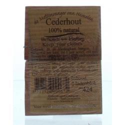 Cederhout ladenblok 100% natuurlijk