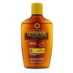 Lemon oil carrot SPF6