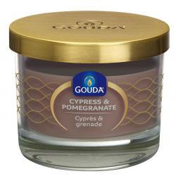 Gevuld glas zandsteen/cypress & pomegranate 66/80