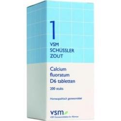 Calcium fluoratum D6 Schussler 1