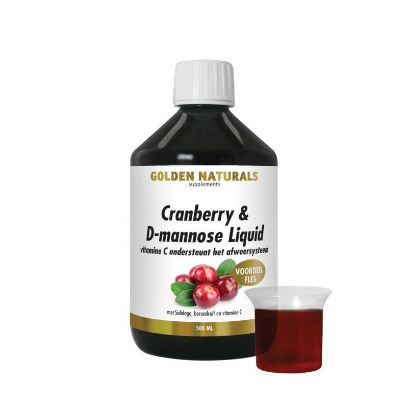 Cranberry D mannose liquid