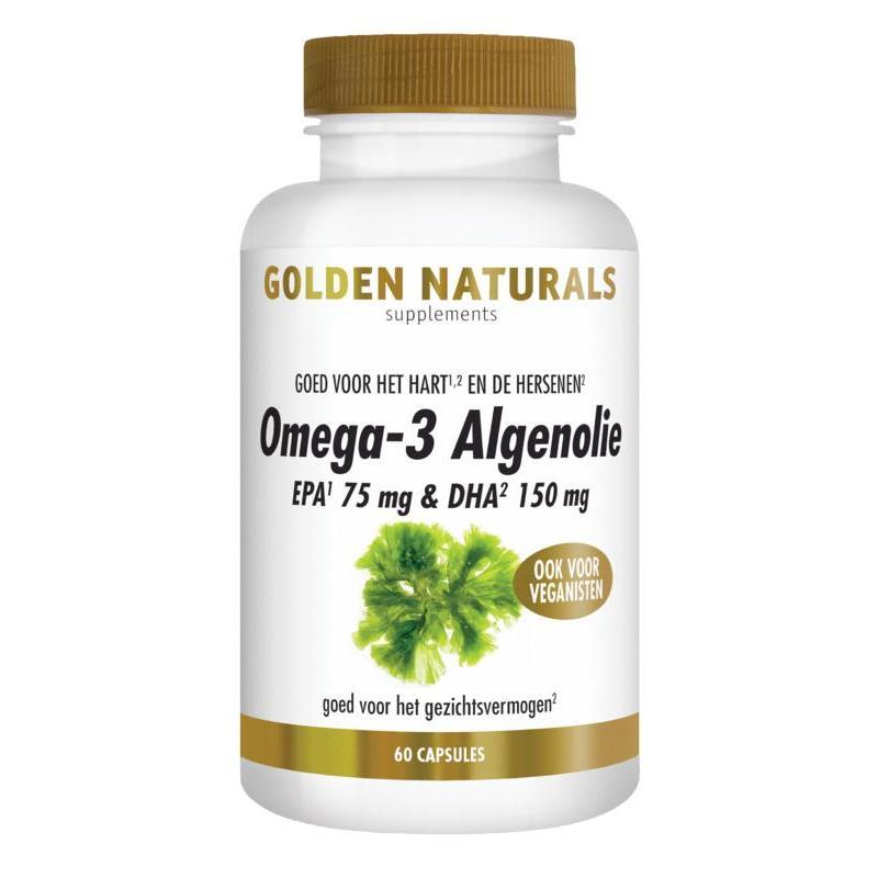 Omega-3 algenolie liquid capsules