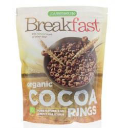 Breakfast cocoa rings