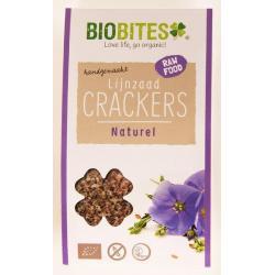Raw food lijnzaad cracker naturel
