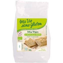 Broodmeel met gierst en zaden bio - glutenvrij
