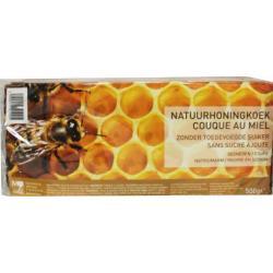 Honingkoek gesneden