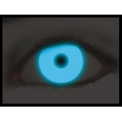 Jaarlenzen fluor blue